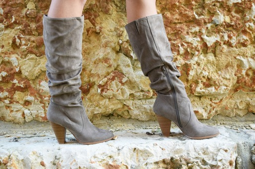 mocha turtle boots