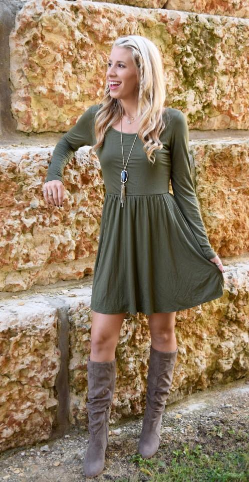 olive dress 5