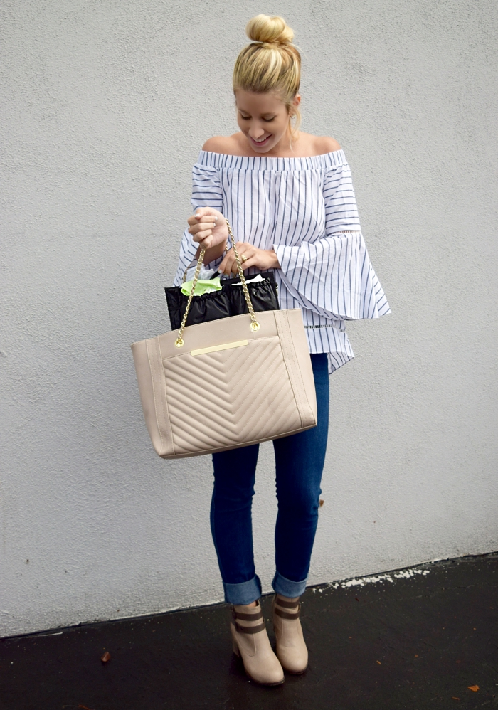 ToteSavvy & Stripes