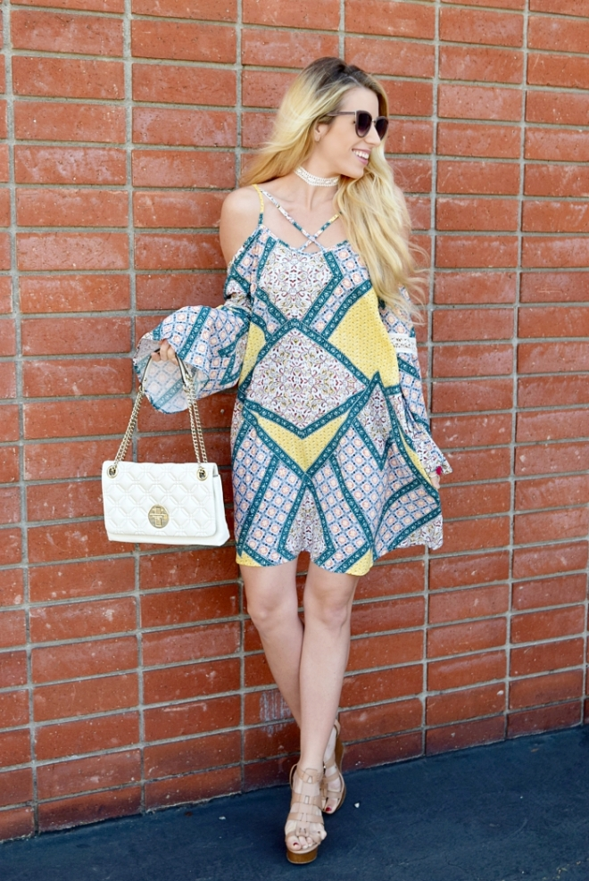 yellow and blue dress3