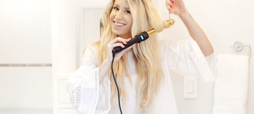 Curling My Hair withBombay